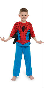 spiderman boys pajamas spider-man sleepwear peter parker pj pjs spidey marvel disney pants lounge