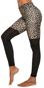 GP-22 Leopard Printed Mesh Legging