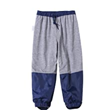 rain pant with cotton lining