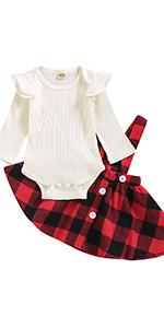 Newborn Suspender Skirt