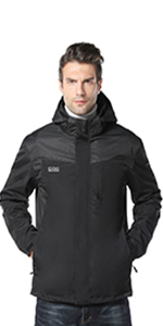 men's 3 in 1 heated jacket