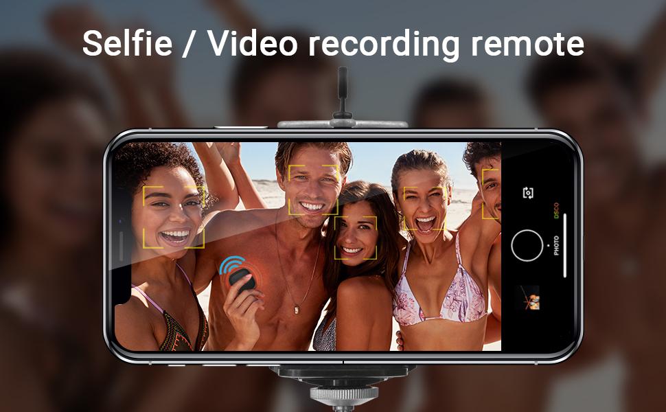 selfie video record