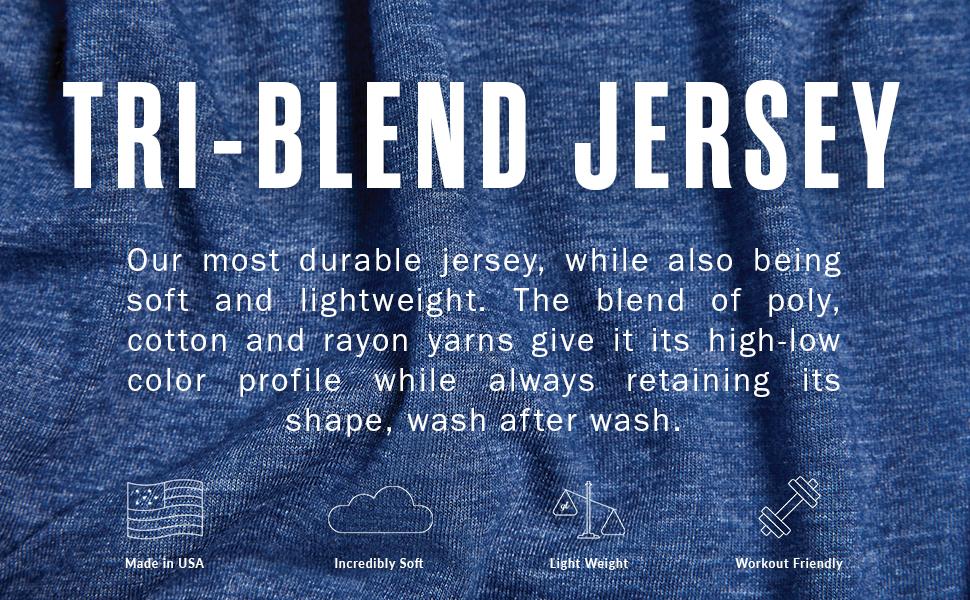 Tri-Blend Fabric