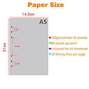 Siz of paper