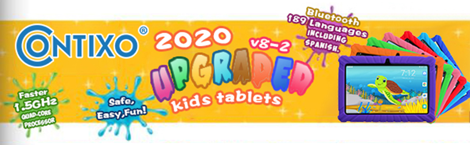 2020 Upgraded V8-2 Kids Tablets