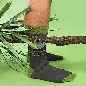sloth, socks, men, lazy