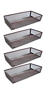 4P 6 Inches Inches Drawer Organizers