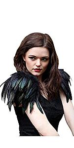 Feather Shrug Epaulet