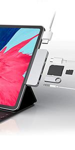 HyperDrive 6-in-1 iPad Pro USB C hub