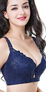 Aivtalk Women's Plus Size Underwire Lace Bra
