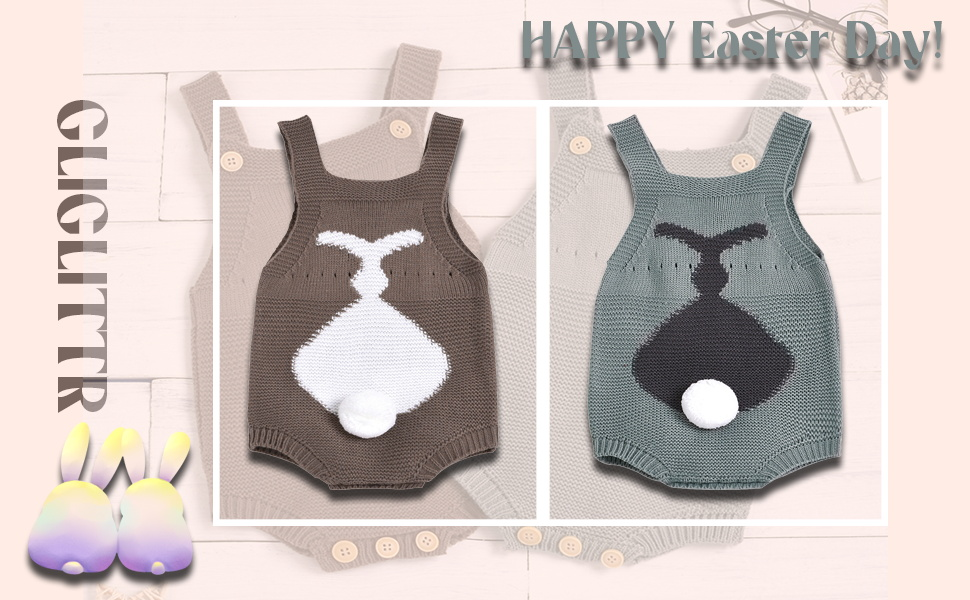 easter clothes for baby boy  bunny romper baby knitted rompers boys easter outfits for babies