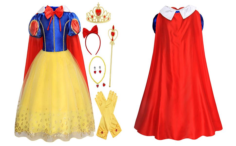 princess costume Dress Up jewelry accessories set HG093+all