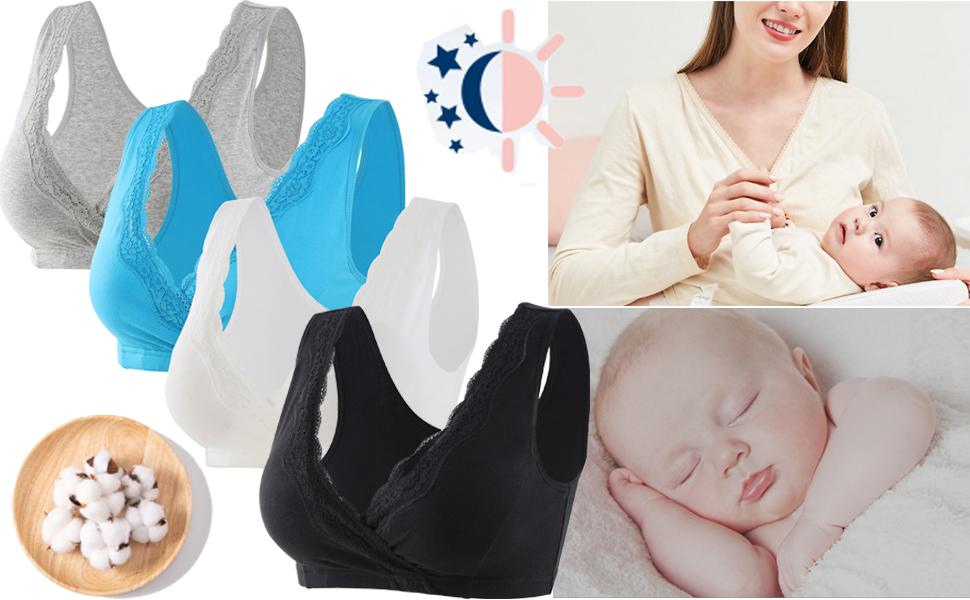 Maternity Nursing Sleep Bra