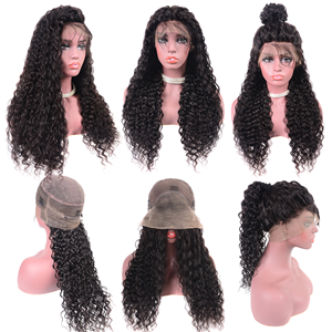 curly wigs with baby hair