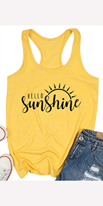 Tank Top Letter Print Tank Tops for Women Graphic Tank Tops Sleeveless Graphic Funny Tank Tops Shirt
