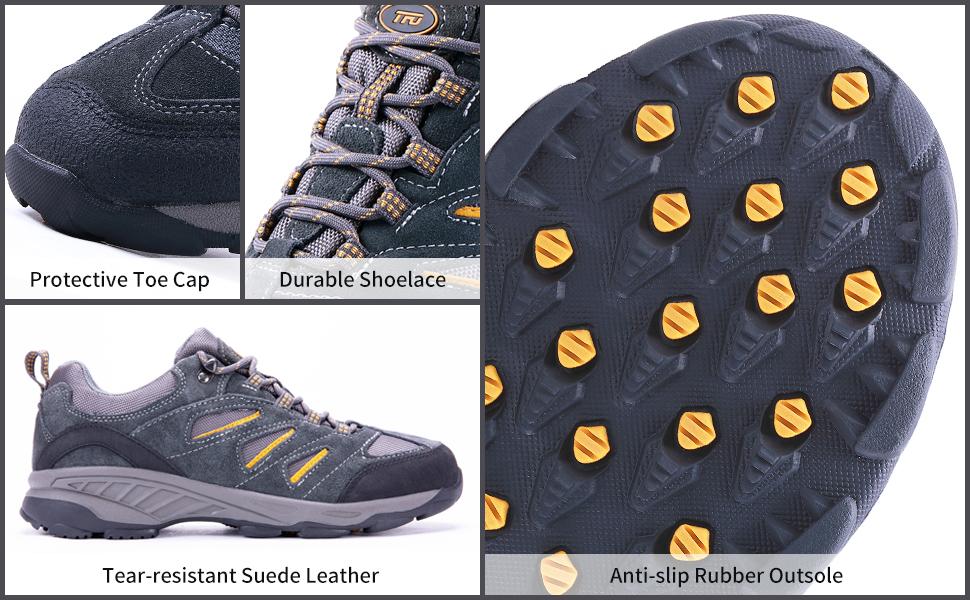 breathable hiking shoes men waterproof sneaker trekking breathable wear-resistant