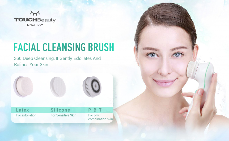 facial brush cleansing