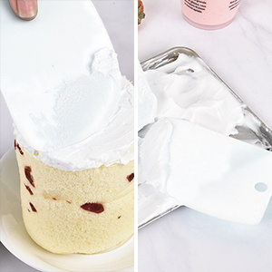 Cake decorate smoother