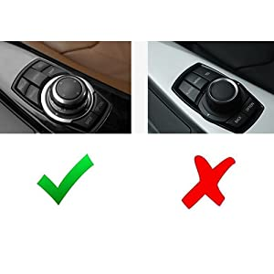 Larger Knob Cover Compatible With BMW 1 2 3 4 5 7 X Series