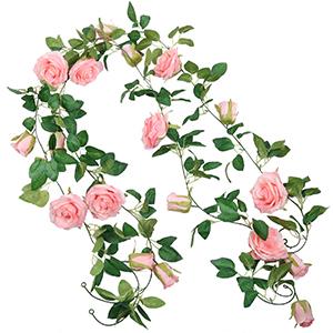 Artificial Rose Garlands Rose Vines hanging rose flower