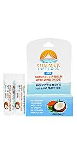 natural lip balm with sunscreen, spf lip balm, lip balm with sunblock, zinc oxide lip balm, spf lips