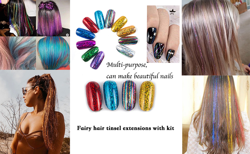 hair tinsel show