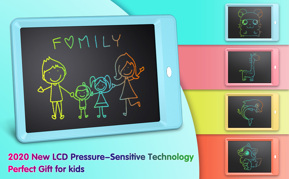 lcd writing tablet doodle board toys for 3 4 5 6 7 year old girls
