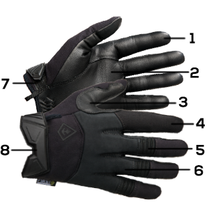 Light Duty Glove First Tactical Police Military Law Enforcement Security