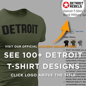 shirt detroit tee sleeve city men football motor mens michigan vintge women adult apparel everybody