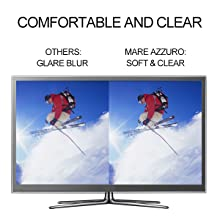 HD anti glare and UV400 lenses