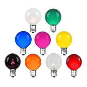 g50 bulbs outdoor string lights