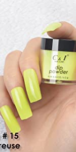 dip powder, dipping powder, yellow, orange, blue, green, cyan, purple, pearl shine, glitter