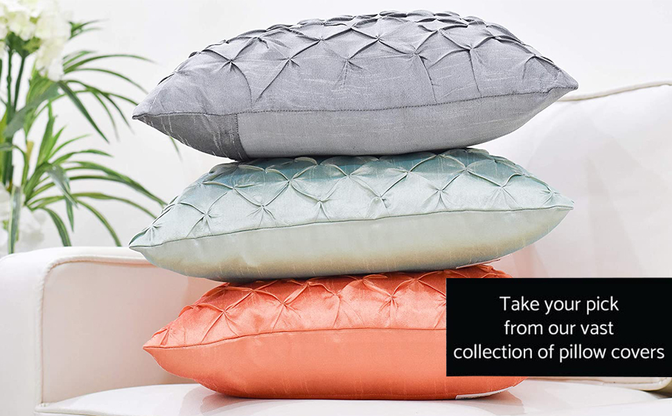 Collection of pillow covers