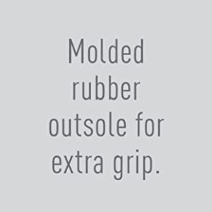 molded rubber outsole