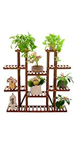 multi-tiered plants stand