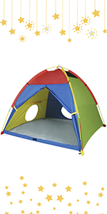 Rainbow Color Play Tent