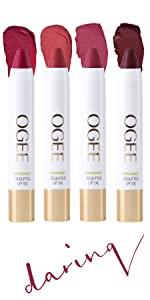lip oil lipstick gift present organic cruelty free jojoba butter tint gloss