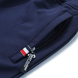jogger shorts with pockets