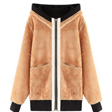 chic, warm, comfortable fleece lined coat just makes the spring/ autumn/ winter
