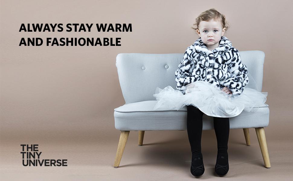 Fur Jacket for Babies