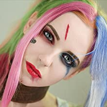hair chalk cosplay