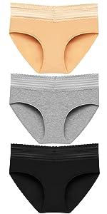 2614 mid rise underwear