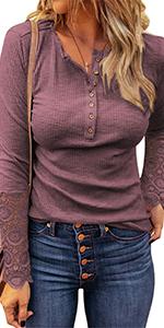 women button tunic