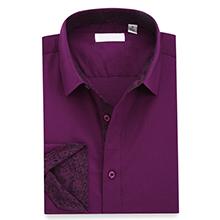 purple shirts for men