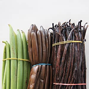 Heilala Vanilla beans pods premium for baking grade a paste