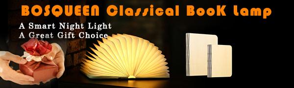 Classical Book Lamp