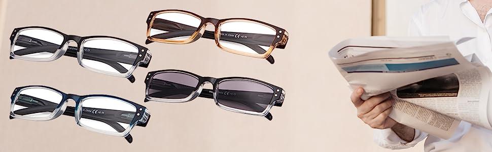 4 pack reading glasses
