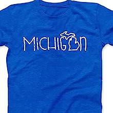 Michigan Doodle shirt short sleeve