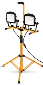 work light with stand tripod