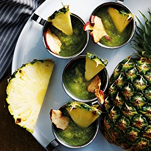 pineapple, smoothie, coconut, blend, healthy, drink, barcelona